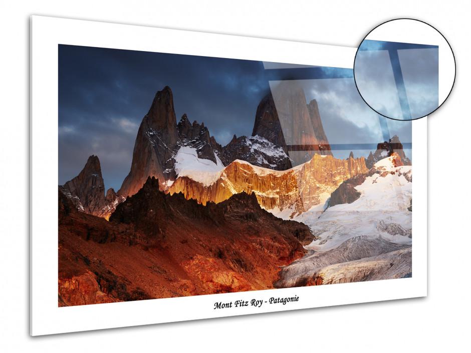 Tableau plexiglas decoratif paysage de Patagonie