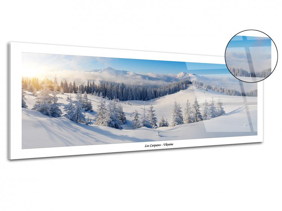 Tableau plexiglas panoramique LES CARPATES