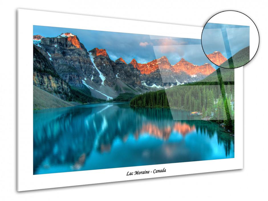 Tableau plexiglas decoratif paysage du Canada