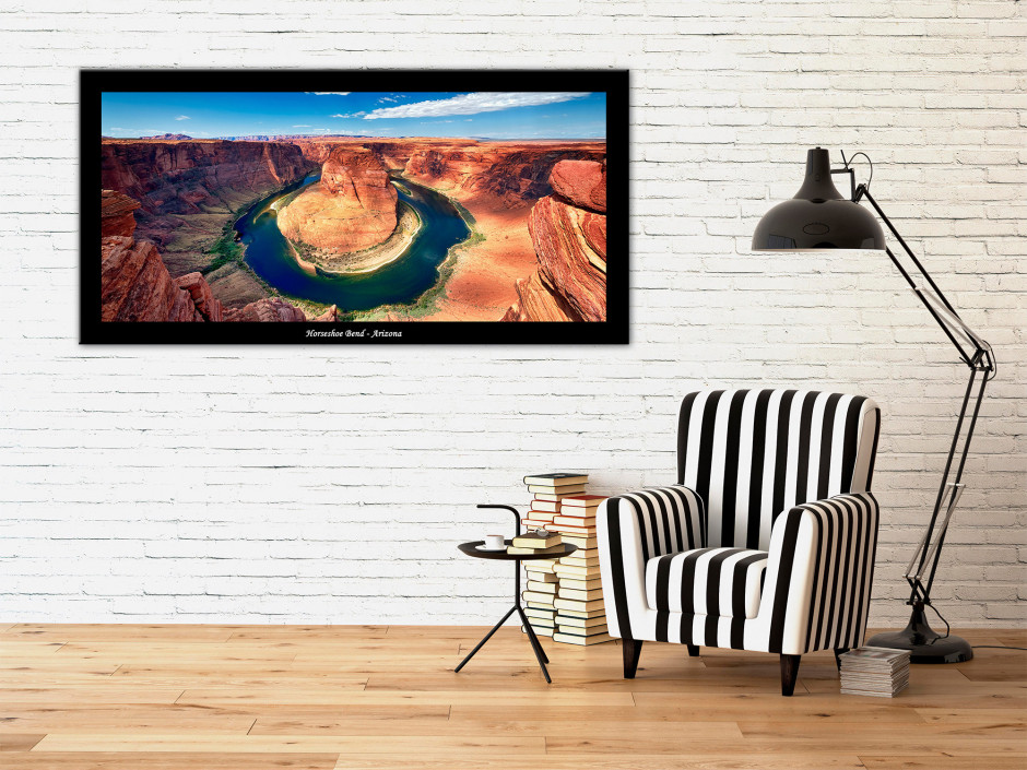 Tableau plexiglas deco photo paysage Arizona