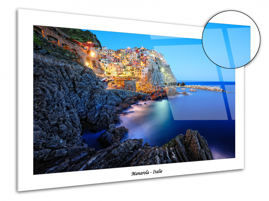 Tableau plexiglas deco Manarola Italie