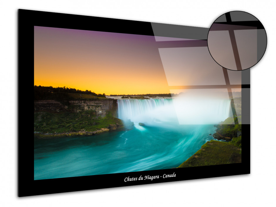 Tableau plexiglas photo des chutes du Niagara