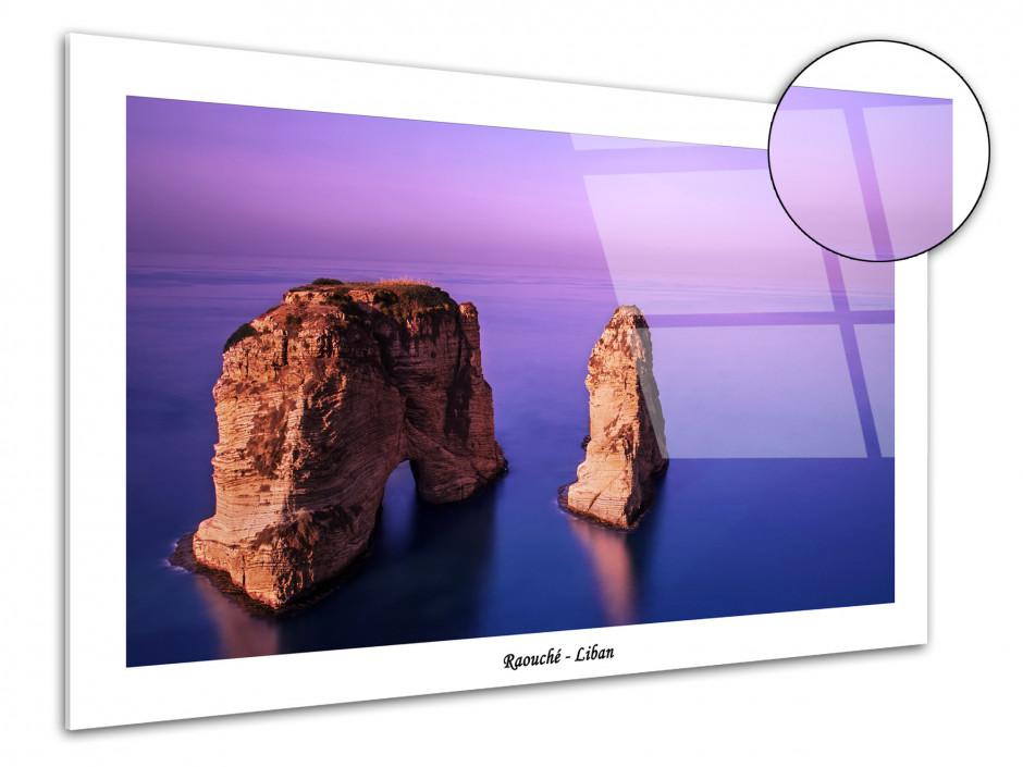 Tableau plexiglas photographie de paysage Raouché