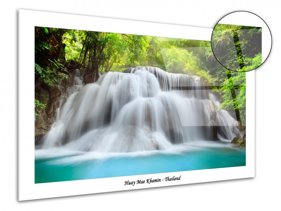 Photographie sur plexiglas moderne Cascade de Thailande