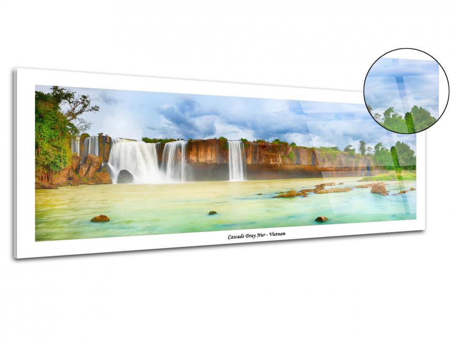 Tableau plexiglas décoratif CASCADE DE DRAY NUR