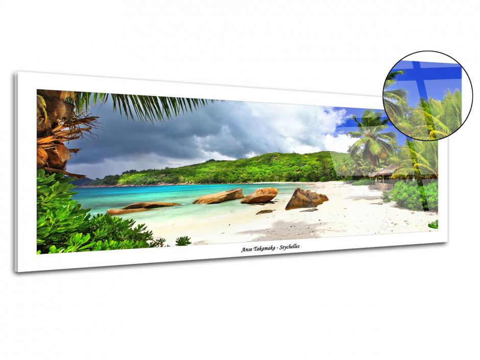 Tableau plexiglas panoramique ANSE TAKAMAKA