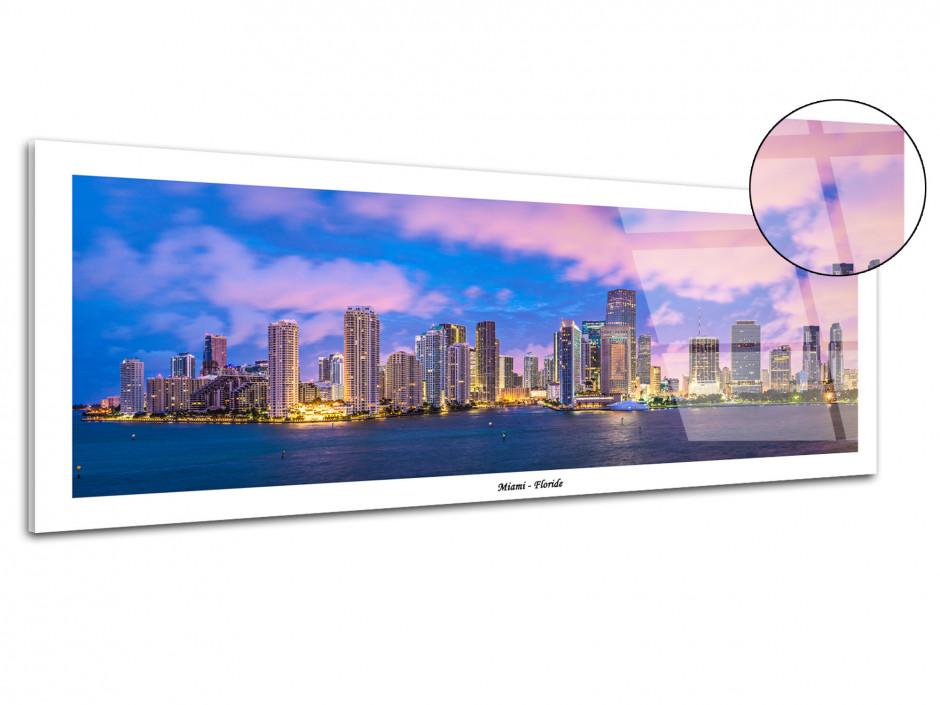 Tableau plexiglas panoramique MIAMI