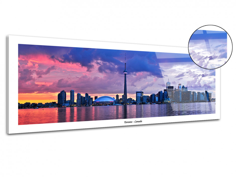 Tableau photo plexiglas deco TORONTO