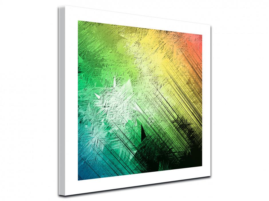 Tableau toile déco dégradé de couleurs