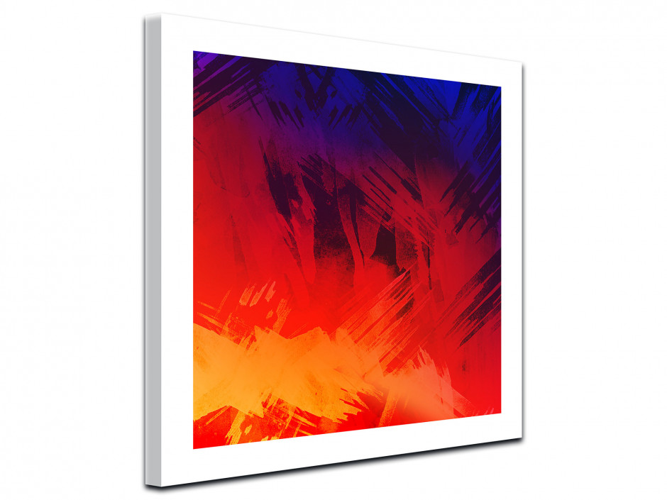 Tableau toile design Abstract Color