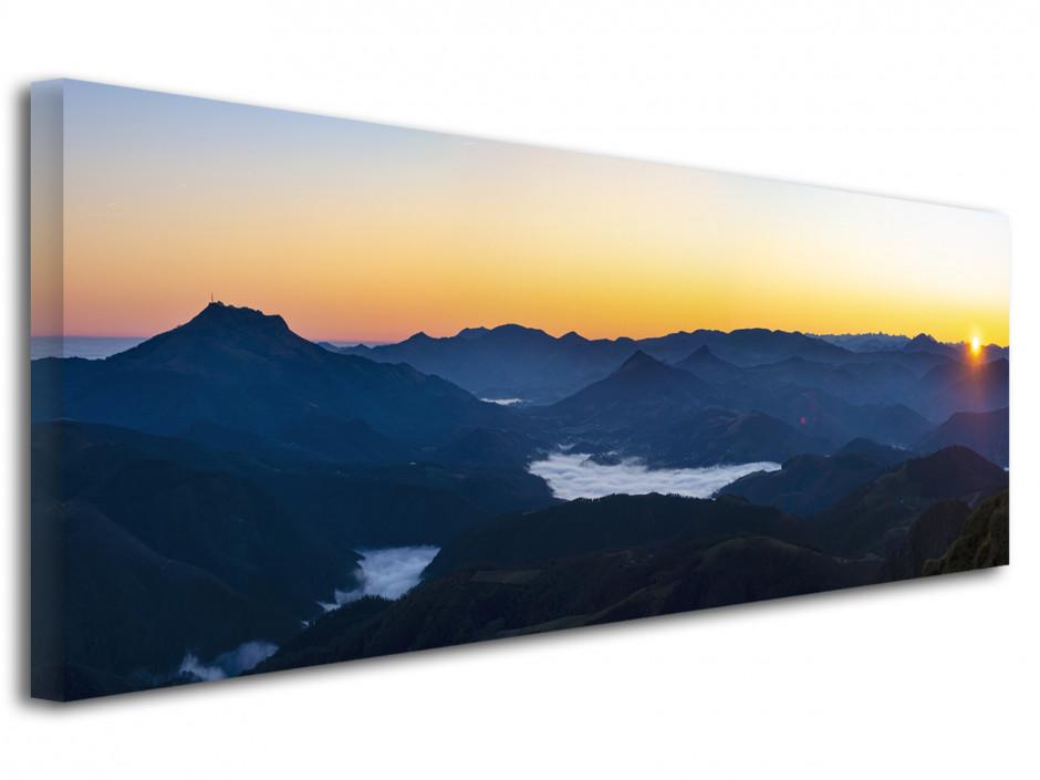 Tableau toile Chaine montagnes du Pays Basque