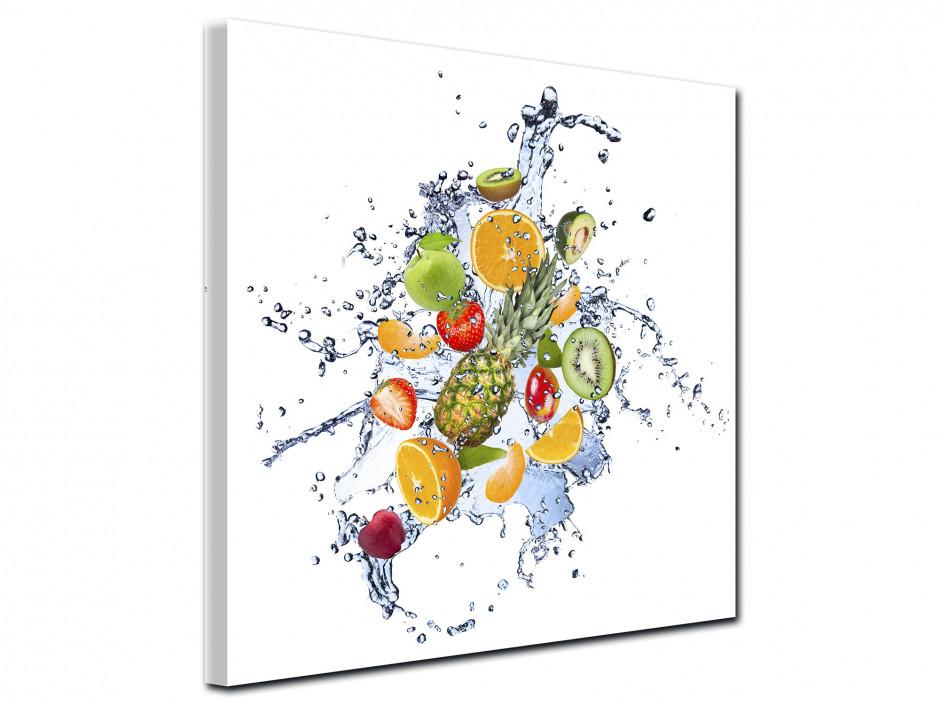 Tableau toile décoration mélange de Fruits
