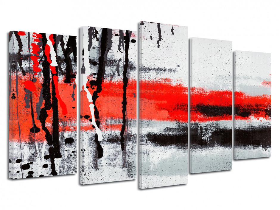 Tableau moderne quintyque Abstrait