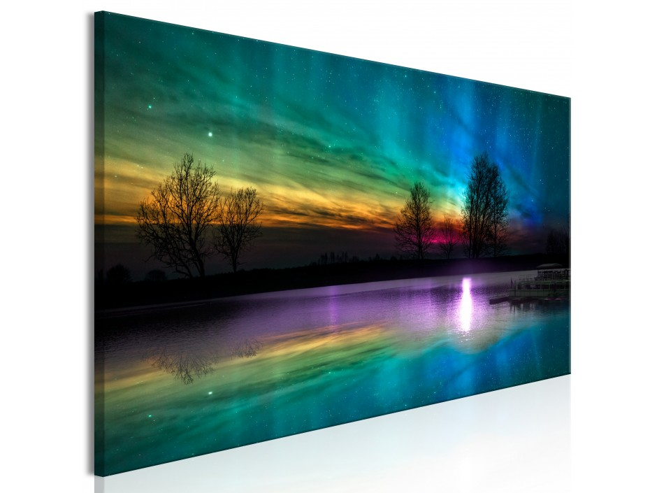 Tableau  Rainbow Aurora (1 Part) Narrow