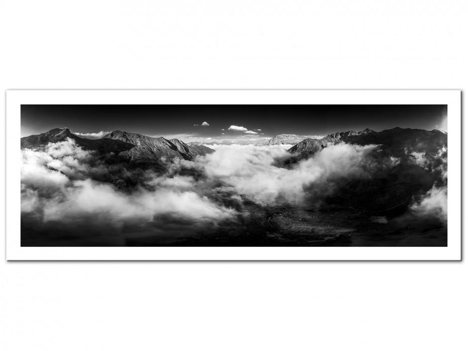 Tableau aluminium photographie vallée d'Ossau