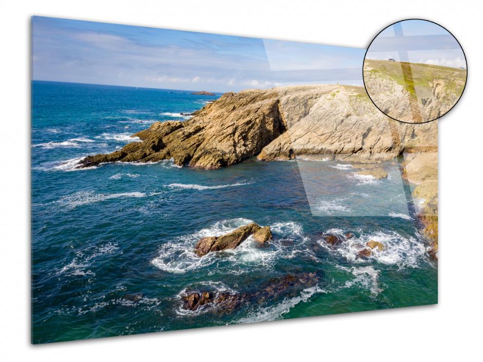 Tableau plexiglas la côte sauvage Quiberon