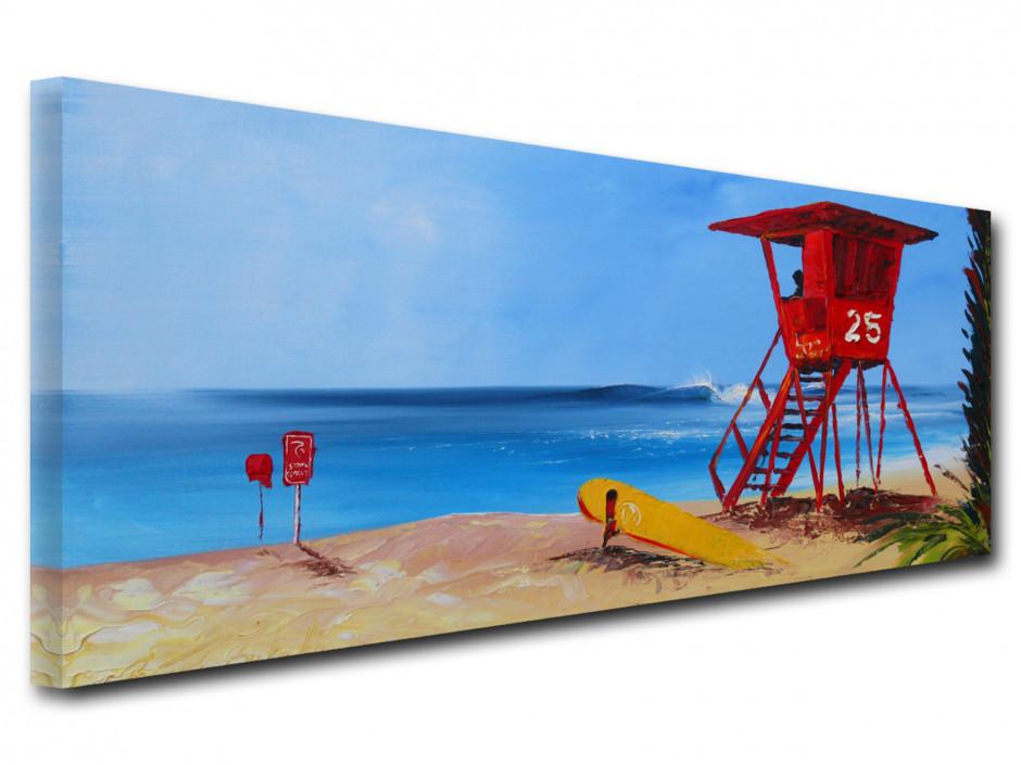 Reproduction tableau peinture Rémi Bertoche Sunset