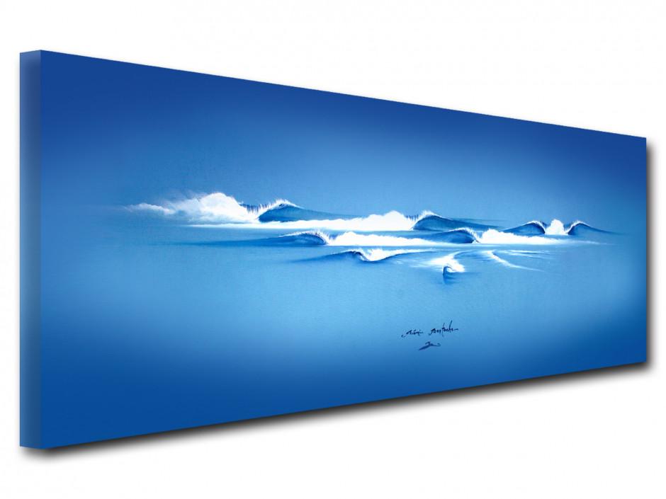 Reproduction tableau Rémi Bertoche The Blue Cool
