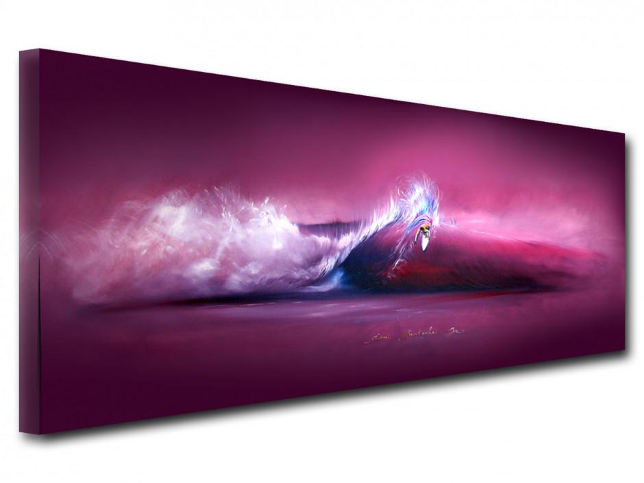 Tableau reproduction sur toile peinture Rémi Bertoche wack move