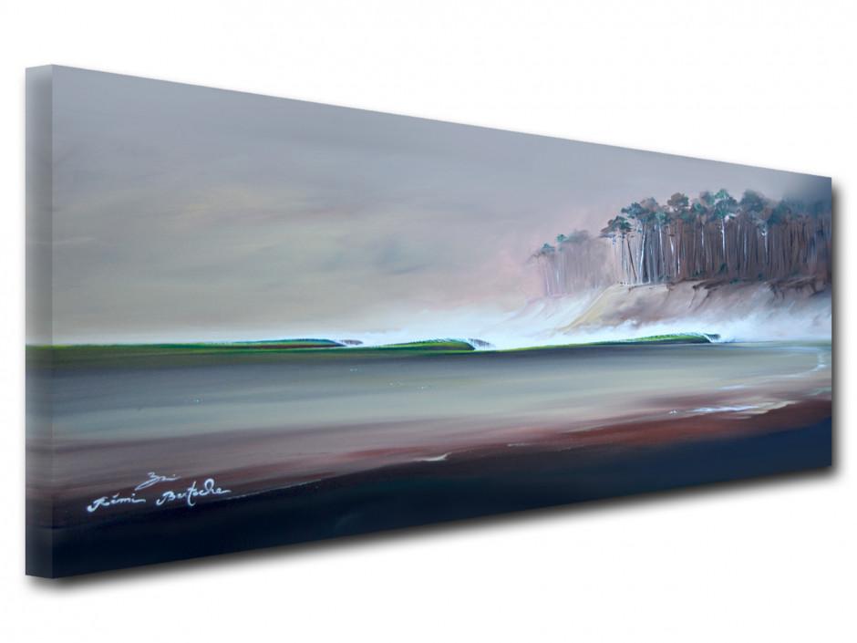 Tableau reproduction sur toile peinture winter session
