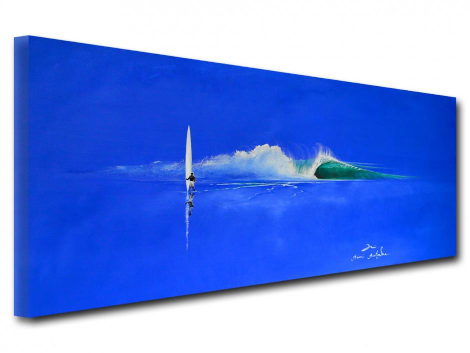 Tableau sur toile Reproduction de peinture The Blue Day