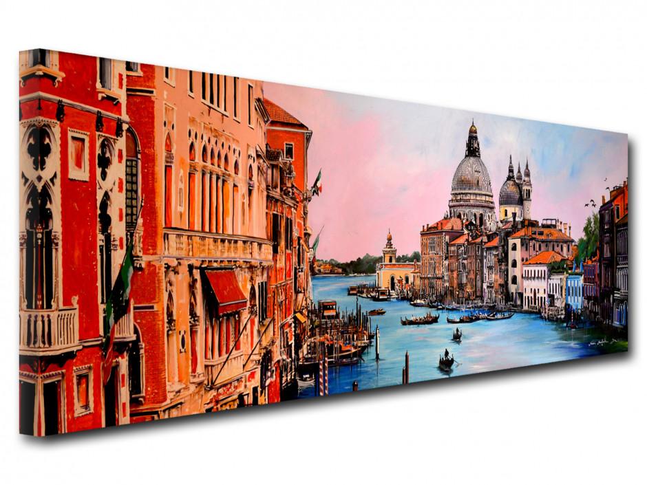 Reproduction peinture sur toile Remi Bertoche Venise
