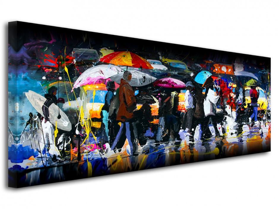 Reproduction tableau artiste peintre Remi Bertoche Crossing
