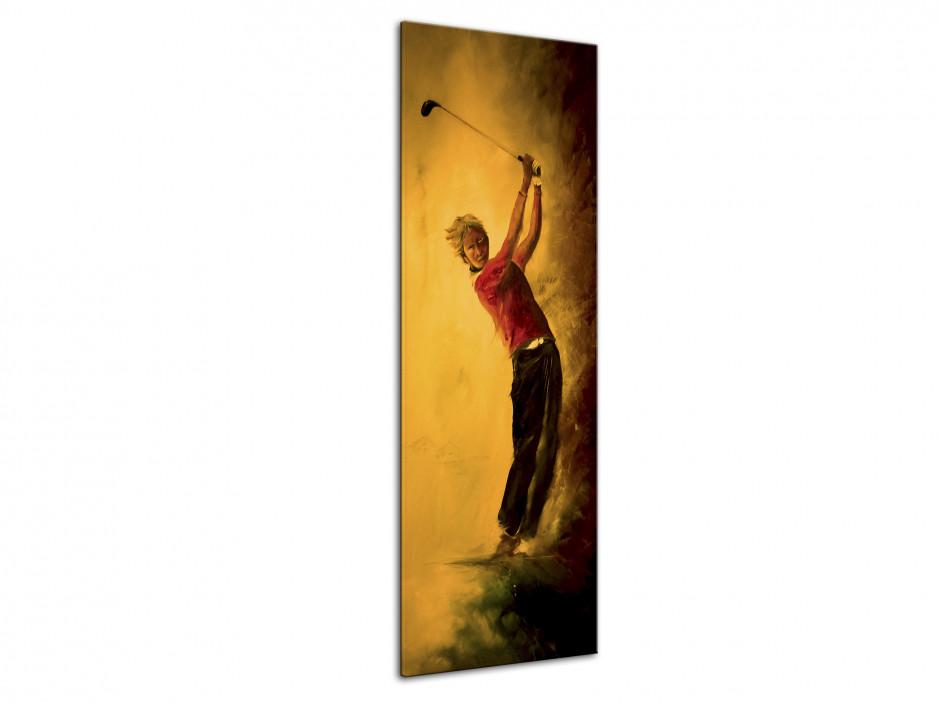 Tableau toile déco reproduction peinture Rémi Bertoche Golf Swing
