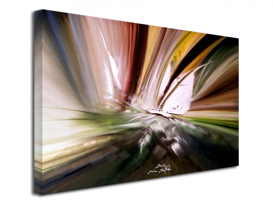 Tableau déco toile Boat Race Abstract reproduction Peinture
