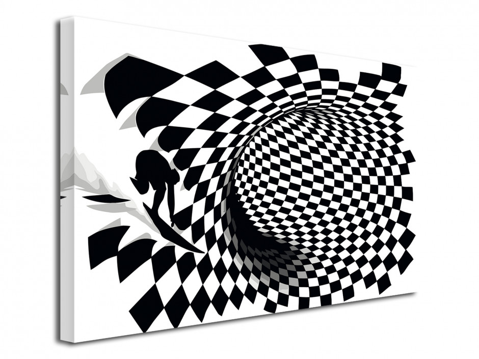Tableau décoratif Surf the Cube