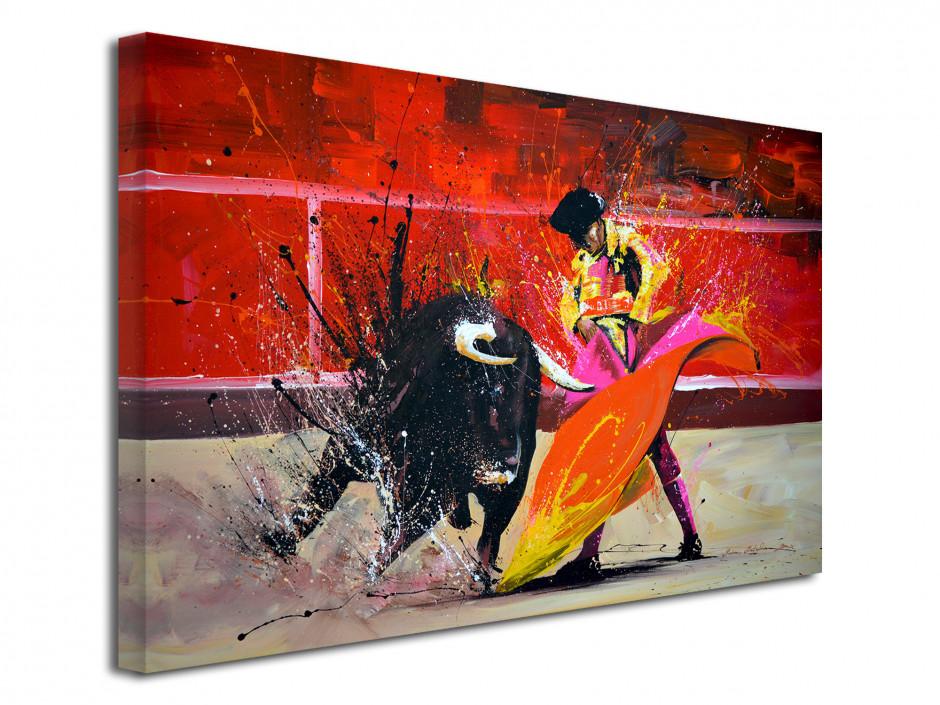 Reproduction peinture sur toile Toro