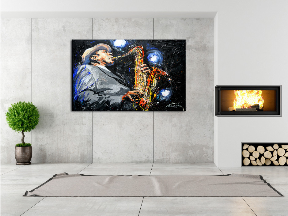 Tableau déco toile reproduction peinture Rémi Bertoche