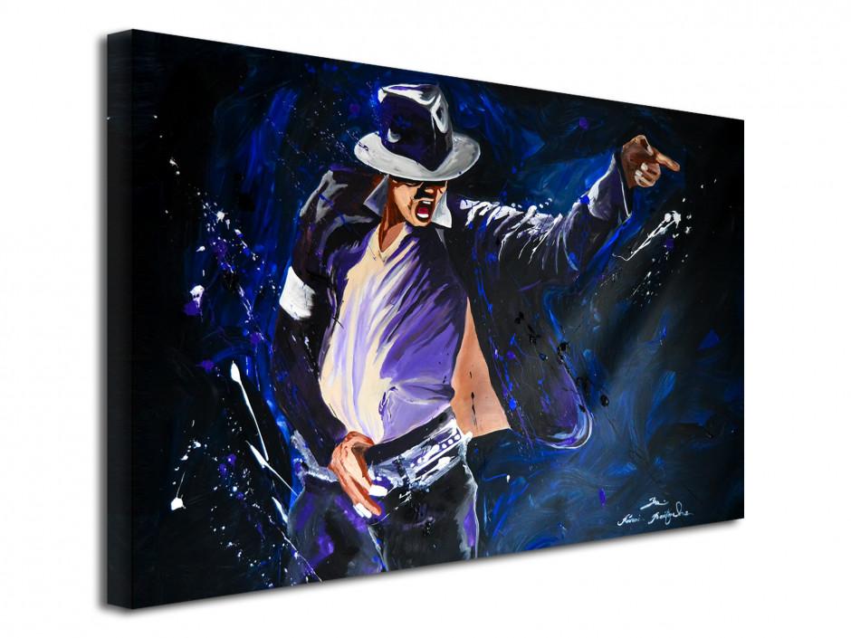 Reproduction peinture sur toile Serie Limitée King of Pop