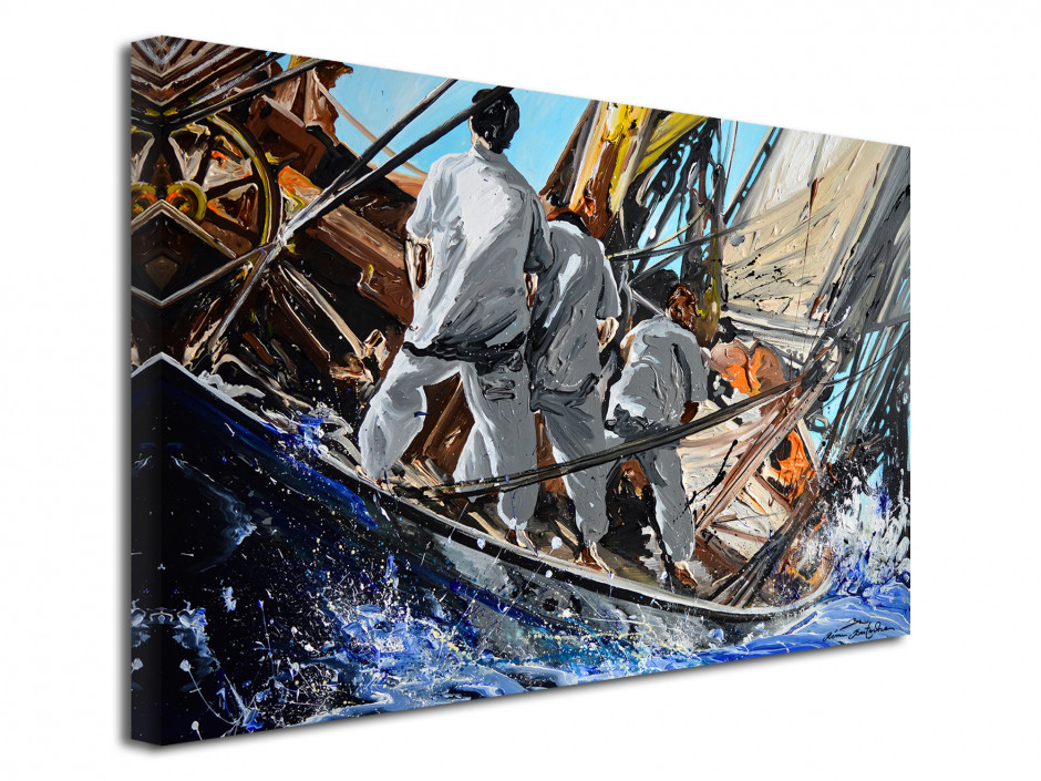 Tableau Rémi Bertoche reproduction sur toile Old Race