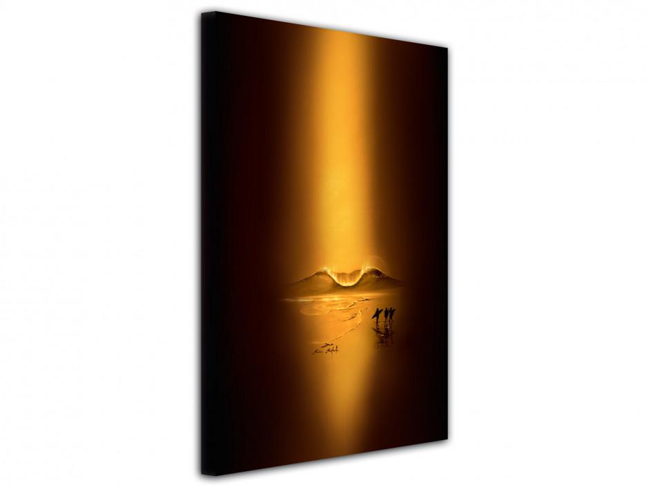 Tableau gold session reproduction peinture Rémi Bertoche