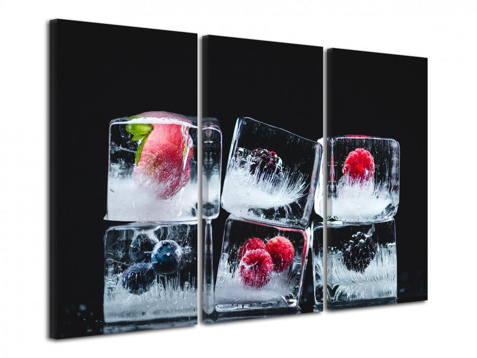 Tableau deco design Fruit et Glaçons
