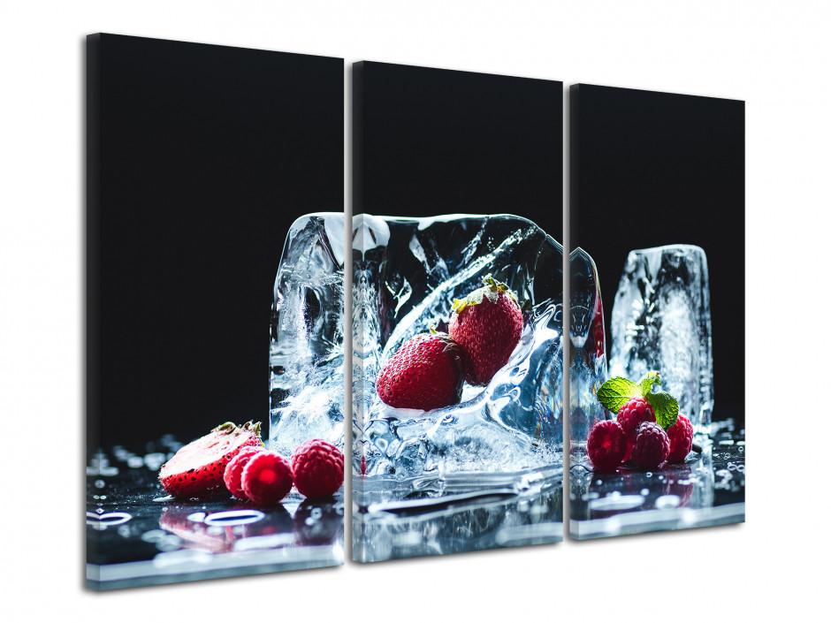Tableau deco moderne Fruits Rouges