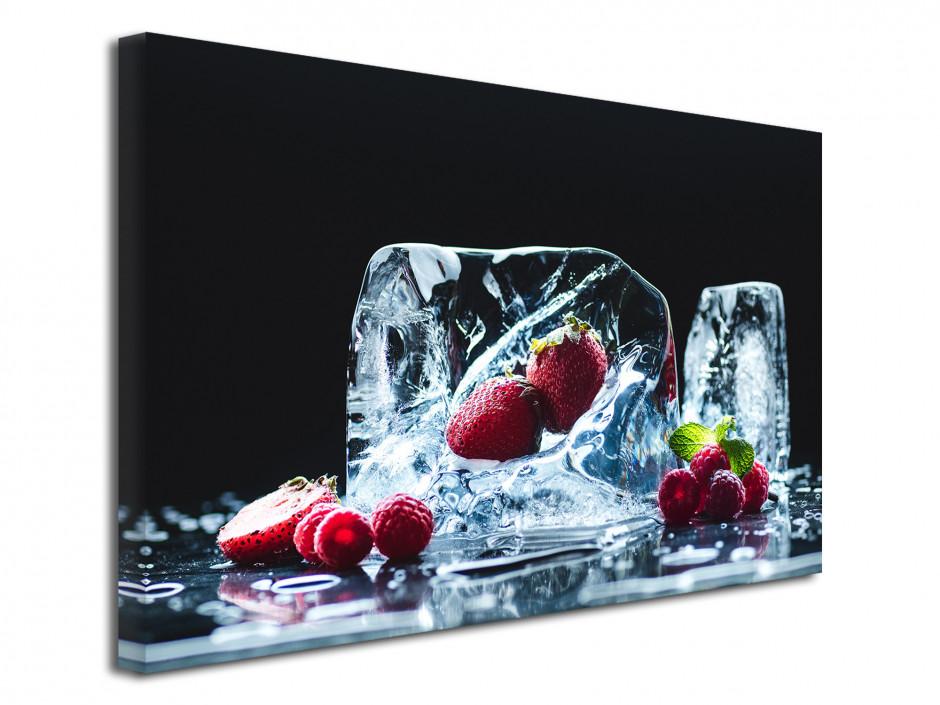 Tableau design deco Les Fruits Rouges