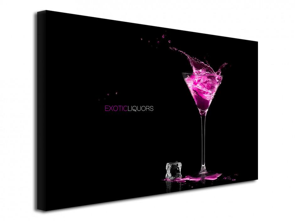Tableau design moderne Liqueur Exotique