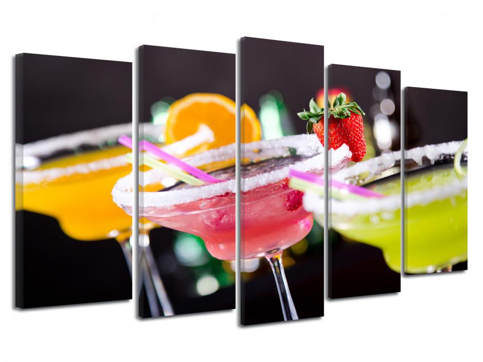 Tableau decoration design Verre Cocktail