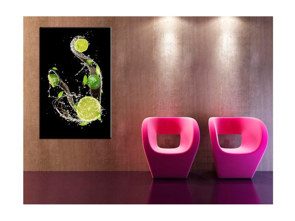 Tableau deco moderne Les Citrons Verts