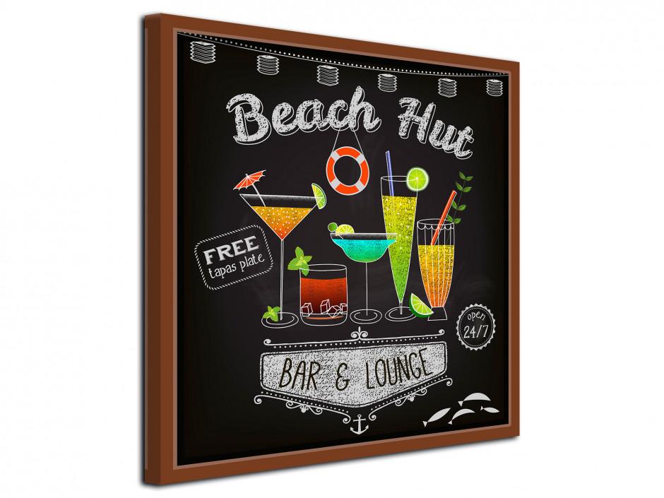 Tableau decoratif Beach Hut