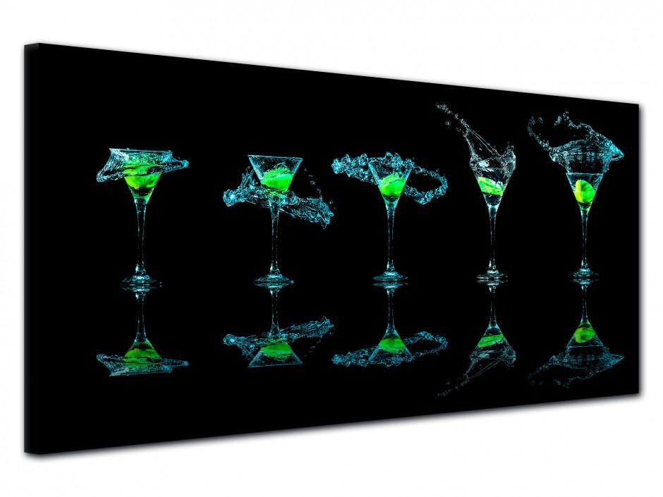 Tableau moderne Verre à Martini