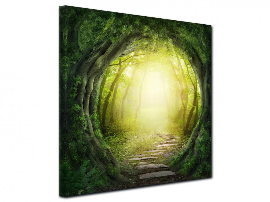 Tableau toile décor de Forêt