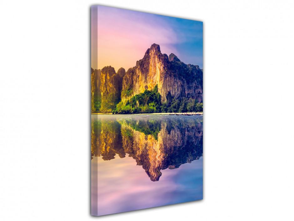 Cadre deco moderne paysage de Thailande