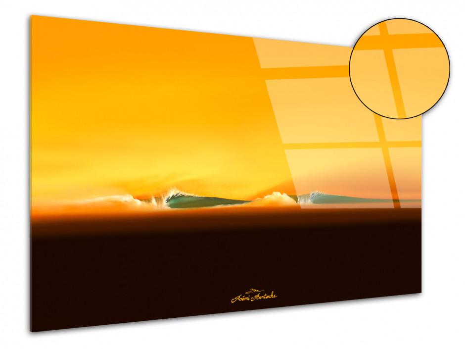 Tableau décoration plexiglass Desert Classic Reproduction peinture