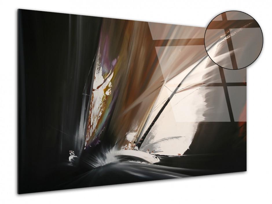 Tableau décoration plexiglass Rémi Bertoche Abstract voile