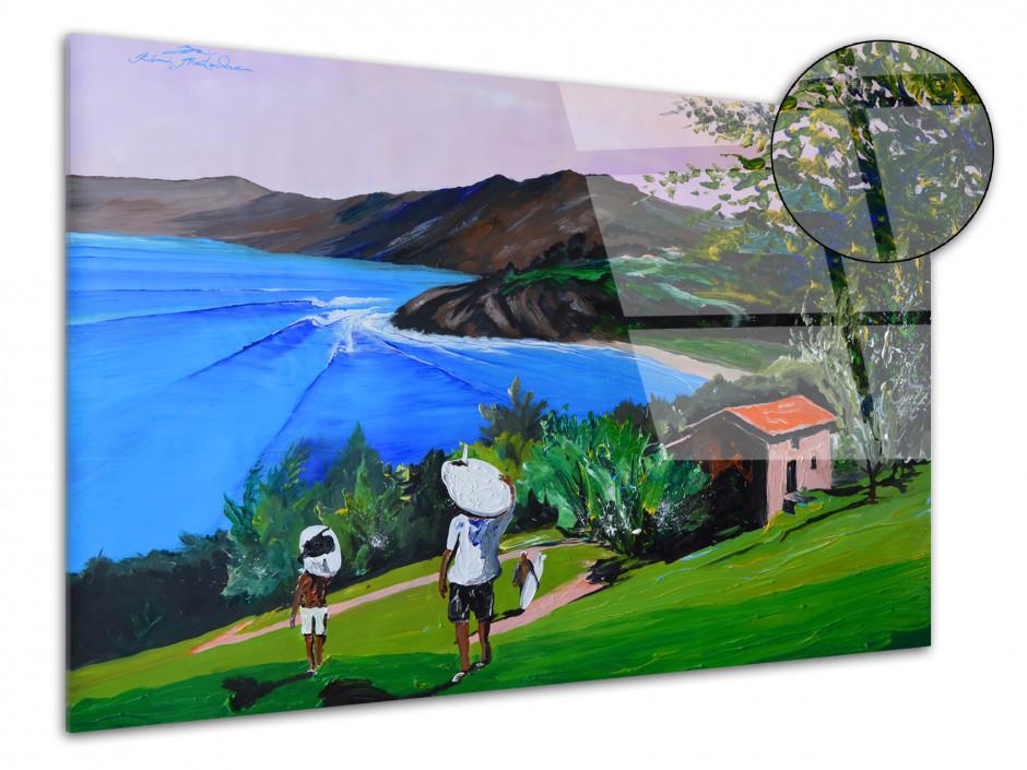 Tableau déco Bask Country Reproduction plexiglas Rémi Bertoche