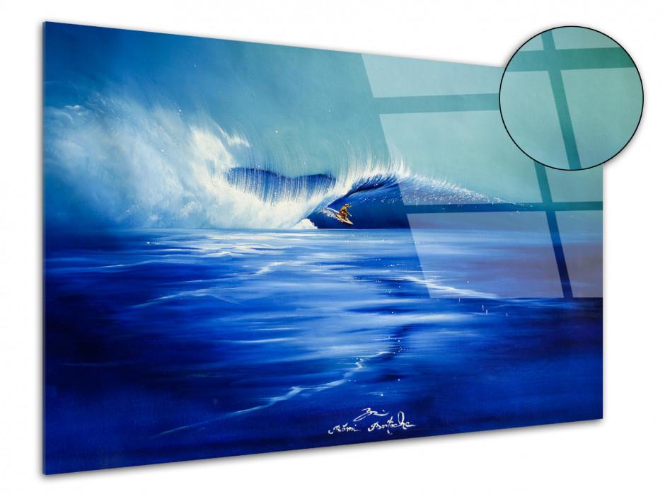 Reproduction tableau plexiglass Rémi Bertoche Funny Waves