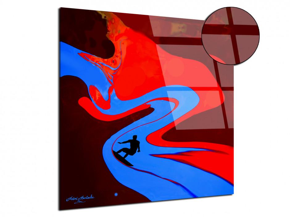 Tableau Surf the painting reproduction plexiglas Rémi Bertoche série limitée